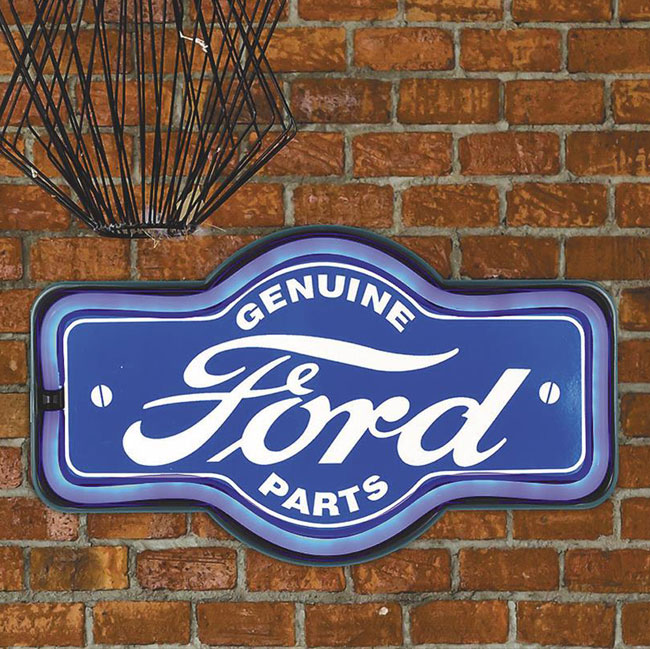 www.sixpackmotors-shop.ch - LEUCHTSCHILD GENUINE FORD